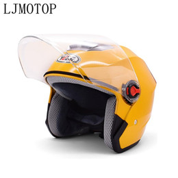 lights for scooters NZ - Motorcycle helmet light weight safety open face helmet scooter bike For 400 EXC -R 450 SX - R F XC - W F R-W EXC -R