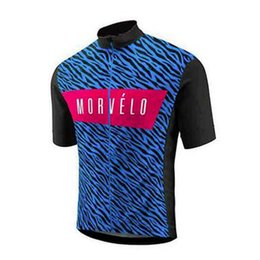 $enCountryForm.capitalKeyWord Canada - Top Quality Short Sleeves Men MORVELO Team Cycling Jersey Quick dry road Bike Clothes mtb bicycle tops outdoor sports uniform 010805Y