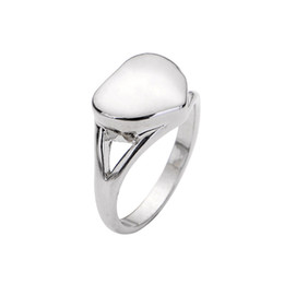 China Vintage Heart Pet Memorial Ring Cremation Ash Holder Urn Finger Rings For Women Femme Jewelry Size 7-10 cheap vintage memorial jewelry suppliers