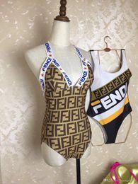 Ingrosso 2019 Swimwear di moda estate donne sexy di colore solido backless costume da bagno bikini imbottito costume da bagno