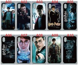 Wholesalers For Iphone Cases Australia - For iPhone 7 Plus case Hard PC and soft TPU High quality print pictures Harry Potter back cover Phone cases For iPhone 8 Plus 10pcs lot