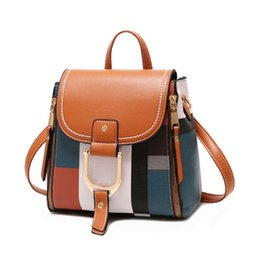 $enCountryForm.capitalKeyWord Australia - Designer Backpacks Hot Sale Women Leather Backpacks Female School BagS for Teenager Girls Travel Back Bag Retro Bagpack Sac A Dos
