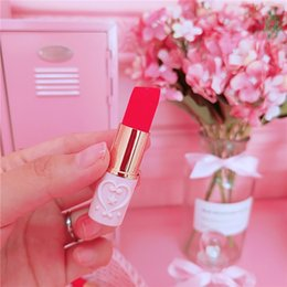 $enCountryForm.capitalKeyWord NZ - Retro Flower Embossed Lipstick Shape Highlighters Novelty Portable Marker Pen Students Stationery School Supplies Lady Gifts