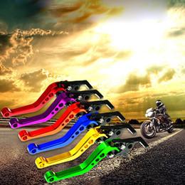 Motorbike clutch levers online shopping - 2pcs Extendable Folding Motorcycle Brake Handle CNC Motorcycle Clutch Brake Lever Handle High Quality Fit for Motorbike Modify