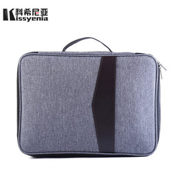 Discount a4 cases - Kissyenia 13 inch Laptop Briefcase Men Business A4 HandBags Multifunction Waterproof Macbook Case Travel Bags portfolio