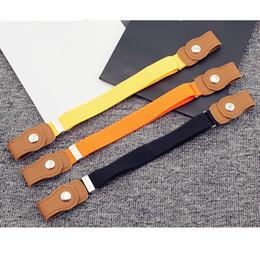 $enCountryForm.capitalKeyWord NZ - Clothing Accessories High Quality Children Anti Deduction Belt Baby Nursery Candy Color Jeans Belts Girls Boys Elastic Belts