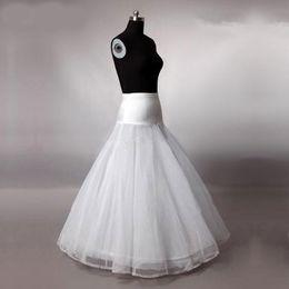 $enCountryForm.capitalKeyWord Australia - Cheap Hot 1 hoop 2 layer Net Petticoat Wedding Dress Ball Gowns A Line Crinoline Quinceanera Dresses Petticoats Bridal Wedding Accessories