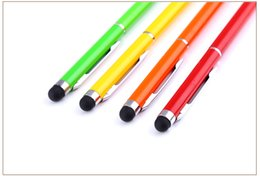 capacitive touch screen pens UK - Written Stylus Pen Touch Screen Universal stylus pen For samsung ,Tablet PC high quality 1000pcs lot