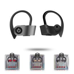 W2 TWS Crochet D'oreille Sport Écouteurs Coloré Sans Fil Mini HIFI Bluetooth V5.0 Écouteurs Sans Fil Casques Tête Téléphones Écouteur pour Apple Andorid en Solde