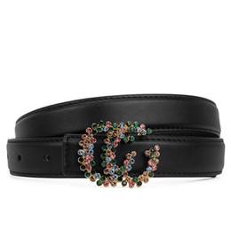 $enCountryForm.capitalKeyWord UK - Beautiful women belt letter pattern smooth buckle design belt bandwidth 2.4cm without box free shipping