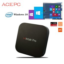 $enCountryForm.capitalKeyWord Australia - Mini PC Computer W8 pro intel atom X5-Z8350 1.44Ghz quad core 2GB 32GB 4GB 64GB dual WIFI RJ45 100M LAN Win 10 computer TV BOX