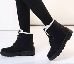 booties winter women Australia - Women Boots Winter Shoes Woman Super Warm Snow Boots Women Ankle Boots For Female Winter Shoes Botas Mujer Plush Booties