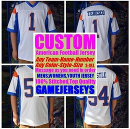 941602ae027 Personalized american football Jerseys college cheap authentic soccer rugby  sports jersey stitched men women youth kids 4xl 5xl 6xl 7xl 8xl