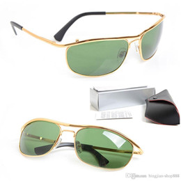 132a47bb9ab3 New style metal Frame Sunglasses Brand Mens Sunglasses Glass Lens glasses  Brand womens Sunglasses Outdoor sports Sun glasses with cases boxs
