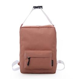 Women Canvas Plain Backpack Bag Japan Style College Girl Fashion Travel Top  Handle School Bags LJJP357 5c7103ec2271c