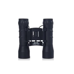 tactical telescope Canada - Tactical HD 22X32 Night Vision Binoculars Wide Angle Optical Lens Zoom Telescope Folding Binocular 1500M 7500M