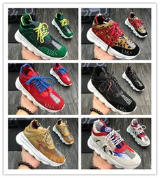 Men Latest Chain Australia - 2019 Latest Cross Chainer Sneakers, Chain Reaction Sneakers in Neoprene & Mesh for Men & Women Casual Shoes six colores