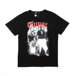 c1152c45 2pac Tee Shirts UK - Vlone 2pac Will V T-Shirt New York Guerrilla Warfare