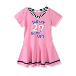 908f2016b07e Kids Hip Hop Dance Costume Girls Jazz Pink Short Sleeve V Neck Dress Street  Dance Clothing Performance Clothes Stage Wear DN2084