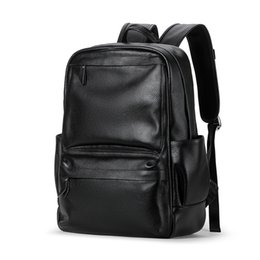 Chinese  Men's Genuine Cow Leather Backpack Laptop Male School Bag High Quality Men Daypacks Korea Style Casual Travel Bag manufacturers