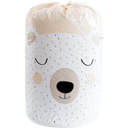 $enCountryForm.capitalKeyWord UK - Foldable Storage Bag Clothes Blanket Quilt Closet Sweater Organizer Box laundry storage basket panier de rangement wholesale ZJ0662