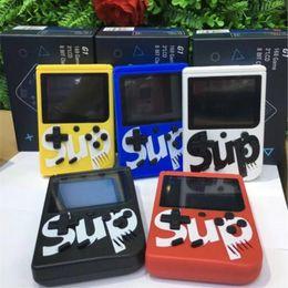 Опт Свободный DHL INS Мини портативная игровая коробка SUP ностальгические игры игрок 400 в 1 3-дюймовый HD цветной ЖК-экран 5 цветов доступных