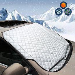 Venta al por mayor de Coche impermeable imán parabrisas cubierta de parabrisas cubierta nieve escarcha protector