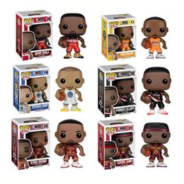 Funko pop Star Sports Jogador de Basquete Kobe Stephen Caril Vinil Action Figure Collectible Toy Modelo para Os Fãs venda por atacado