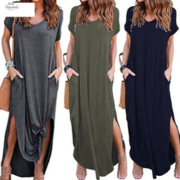 $enCountryForm.capitalKeyWord UK - Fashion New Womens Loose Summer Flutter Sleeves Gallus Short Beach Floor-Length Long Dress G3 Drop Shipping Good Quality Designer Clothes