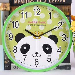 Antique Cartoon Australia - 2018 New Horloge Murale Clock Wall Mute Fashion Cartoon Children Watch The Sitting Room Bedroom Wall Clock To Bracket Quartz