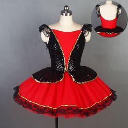 Dance Tutus Australia - Spanish Dance Ballet Tutu for Girl & Women Stage Performance Ballet Costume Dance Tutu