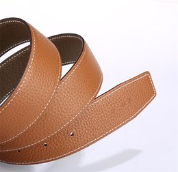 Wholesale Copper material buckle head high quality belt for men and women with pure copper wire belt buckle good belt strong and durable