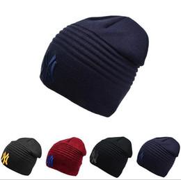 Beanies For Winter Australia - 2018 mens designer hats bonnet winter beanie knitted wool hat plus velvet cap skullies Thicker mask Fringe beanies for menDesigner Hats Caps