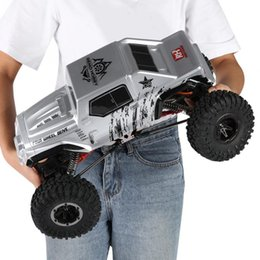 $enCountryForm.capitalKeyWord NZ - 1072-SJ 2.4GHz 1 10 4WD 2 Channels 550 Brushed Crawler Remote Control Car Vehicle 40A Waterproof Brushed ESC model toy for kids