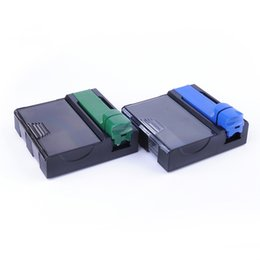 $enCountryForm.capitalKeyWord Australia - Newest Smoking Rolling Filter Machine With Cigarette Storage Box Case Tube Filling Tool Portable Innovative Design Handroller Accessories