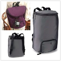 $enCountryForm.capitalKeyWord Australia - Unisex U&A Shoulder Bag Light Backpack 18L Large Capacity Barrel Duffle Tote Foldable Storge Bags Sports Travel Training Packsack A52001