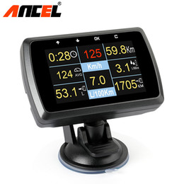 $enCountryForm.capitalKeyWord NZ - Ancel A501 OBD2 Digital On-board Computer For Car HUD Display Fuel Consumption Water Temperature Over Speed Alarm Meter