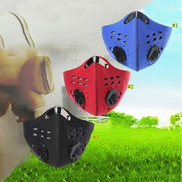 Chinese  Cycling Face Mask Sport Training PM2.5 Anti-pollution Running Mask Activated Carbon Filter Washable Mask MMA3246 manufacturers