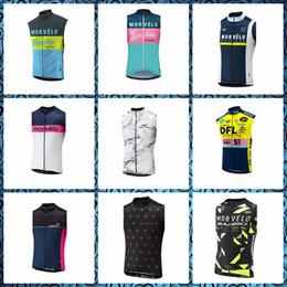 $enCountryForm.capitalKeyWord Australia - Morvelo team Cycling Sleeveless jersey Vest Quick-dry summer Breathablean Comfortable shirts Mans sleeveless Cycling Vest 51757