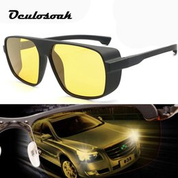 $enCountryForm.capitalKeyWord NZ - 2019 Night Vision Glasses For Headlight Polarized Driving Sunglasses Yellow Lens Uv400 Protection Night Eyewear For Driver