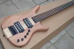 $enCountryForm.capitalKeyWord Australia - Manufacturer custom classic high-grade 5 string electric bass, body scrub wood color, black accessories, two active pickups, custom color