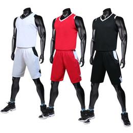 ebd36d0a6cd Wholesale Suits Uniforms Australia - New basketball uniform suit, jersey  adult light board competition team