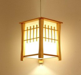 Fluorescent lights kitchen online shopping - Classic Wooden Balcony Pendant Lamps Japanese Style Dining Room Pendant Light Hallway Corridor Pendant Lamp