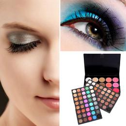 Matt Make Up Australia - POPFEEL 95 color eye shadow professional make-up disc pearly color matt earth