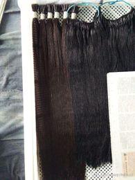 $enCountryForm.capitalKeyWord Australia - 100% Human Remy Hair Extensions Double Drawn I Tip Fusion Prebonded Hair Extensions Stick Keratin Hair 200gr