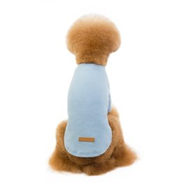 t sunglasses Australia - Pet Autumn And Winter Thickening Cotton T-Shirt Puppies Body Pet Warm Coat Winter Dog Clothes Hoodies Costumes Clothing Dog Apparel