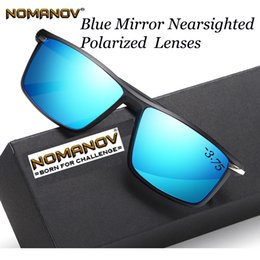 3bcdedd766 Shield Men Women Polarized Sun Glasses Polarized Mirror Sunglasses Custom  Made Myopia Minus Prescription Lens -1 to -6
