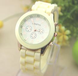 Luxury Wrist Watches China Australia - China luxury mens-watches women men geneva watch rubber candy jelly fashion unisex silicone quartz wrist watches for men women wristwatch BB