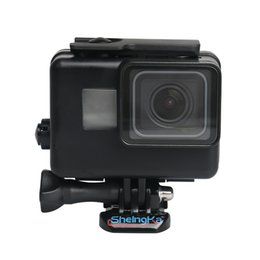 dive housing UK - 45m Underwater Waterproof Case for GoPro Hero 6 5 7 Black Diving Protective Cover Housing Mount for Go Pro 6 5 7 Accessory