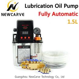 $enCountryForm.capitalKeyWord NZ - Full Set Cnc Automatic Lubrication Oil Pump 1.5l Digital Electronic Timer Gear Pumps For Cnc Machine Newcarve